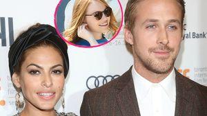 Eva Mendes, Ryan Gosling und Emma Stone