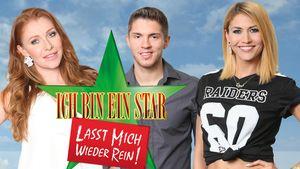 Fiona Erdmann mit Joey Heindle und Georgina Fleur im Sommer-Dschungel