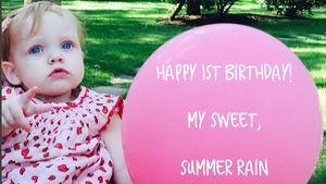 Geburtstagsfoto von Christina Aguileras Tochter Summer Rain