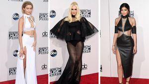 Gigi Hadid, Gwen Stefani und Kylie Jenner mit Grusel-Look bei den AMAs - Collage