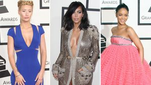 Grammy-Outfits Collage