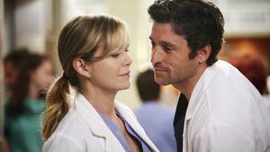 Grey's Anatomy: Ellen Pompeo und Patrick Dempsey schauen sich an