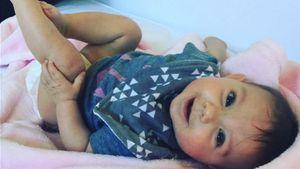 Haylie Duffs Tochter Ryan auf Babydecke