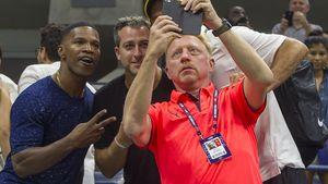 Jamie Foxx will ein Selfie mit Boris Becker bei den US Open