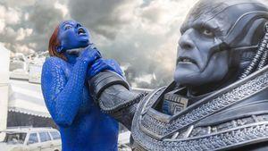"Jennifer Lawrence und Oscar Isaac in ""X-Men: Apocalypse"""