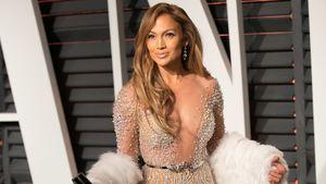 Jennifer Lopez im glitzernden Nackt-Kleid