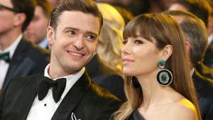 Jessica Biel & Justin Timberlake in Abendroben