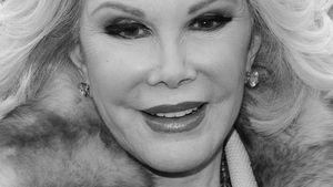 Joan Rivers Schwarzweißfoto