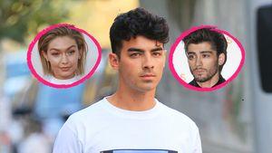Joe Jonas mit Gigi und Zayn Collage