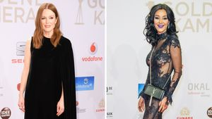 Julianne Moore und Verona Pooth - Collage