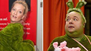 Juliette Schoppmann und Dirk Bach als Urmel