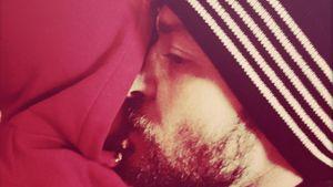 Justin Timberlake kuschelt mit Sohn Silas