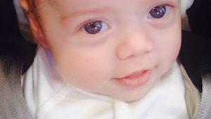 Kaius Jagger im Kindersitz