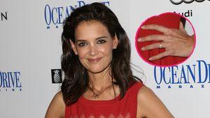 Katie Holmes mit Ring