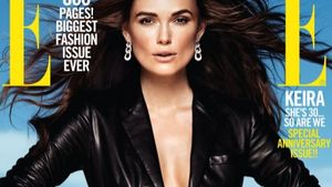 Keira Knightley auf Elle Cover