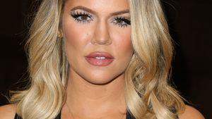Khloe Kardashian guckt neutral