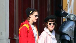 Kristen Stewart und SoKo in Frankreich