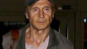 Liam Neeson dünn und erschöpft