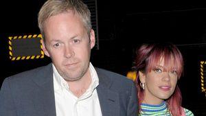 Lily Allen und ihre Ehemann Sam Cooper