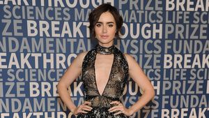 Lily Collins Red Carpet