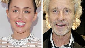 Miley Cyrus und Thomas Gottschalk in einer Collage