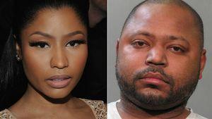 Nicki Minaj und ihr Bruder Jelani Maraj in einer Collage