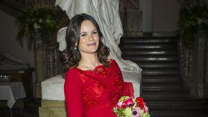Prinzessin Sofia im roten Kleid