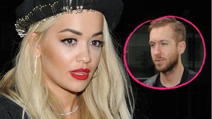 Rita Ora und Calvin Harris Collage