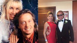 Robert Geiss und Carmen Geiss an ihrem Hochzeitstag und 21 Jahre später