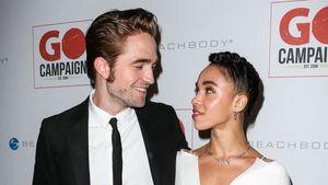 Robert Pattinson und FKA Twgis verliebt auf dem Red Carpet