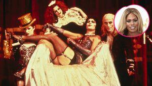 Rocky Horror Show und Laverne Cox in einer Collage