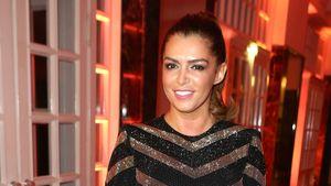 Sabia Boulahrouz im Minikleid