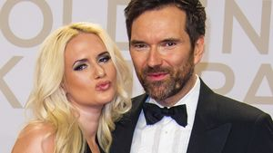 Sarah Knappik und Ingo Nommsen bei der Goldenen Kamera
