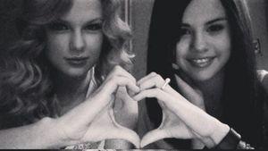 Selena Gomez und Taylor Swift früher und heute