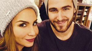 Sila Sahin und Samuel Radlinger mit Verlobungsscreenshot