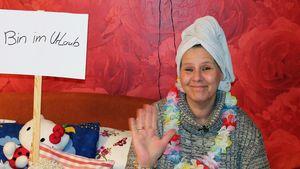Silvia Wollny protestiert