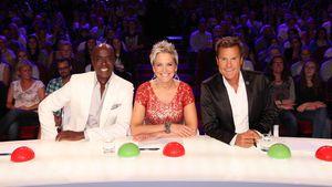 Supertalent-Jury 2015 mit Dieter Bohlen, Inka Bause und Bruce Darnell