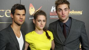 Taylor Lautner, Kristen Stewart und Robert Pattinson