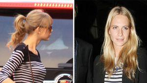 Taylor Swift und Poppy Delevigne im ähnlichen Outfit