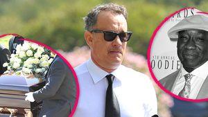 Tom Hanks bei der Beerdigung von Michael Clarke Duncan