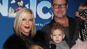 Tori Spelling und Dean McDermott mit ihren Kindern