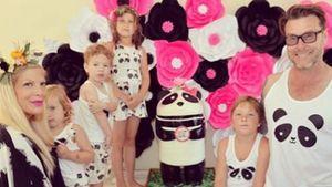 Tori Spelling und ihre Familie
