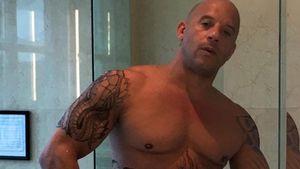Vin Diesel nur mit Handtuch