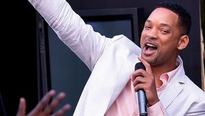 Will Smith macht coole Pose