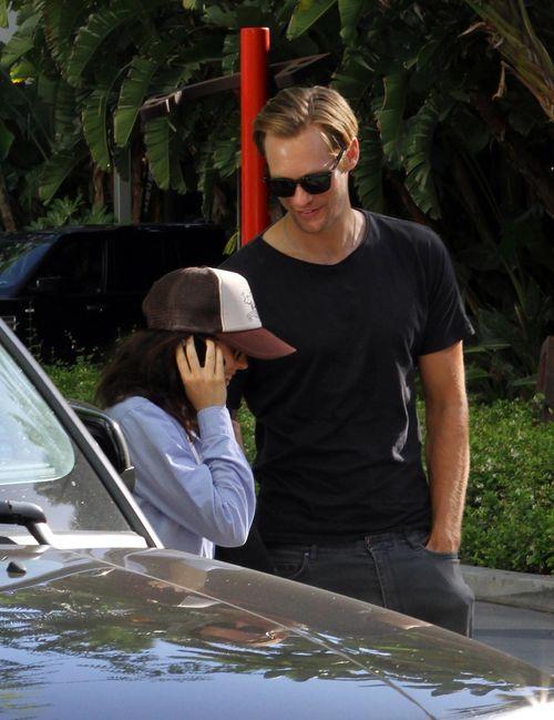 Sind Alexander Skarsgard und Ellen Page ein Paar?