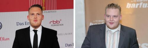 Axel Stein heute und früher, der Unterschied ist deutlich!