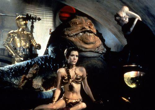 """Prinzessin Leias Bikini aus """"Star Wars"""" wurde versteigert"""