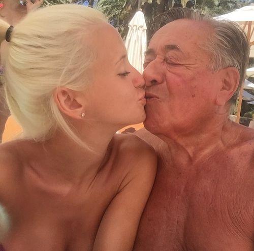 Cathy und Richard Lugner sendeten sonnige Grüße aus ihrem Urlaub