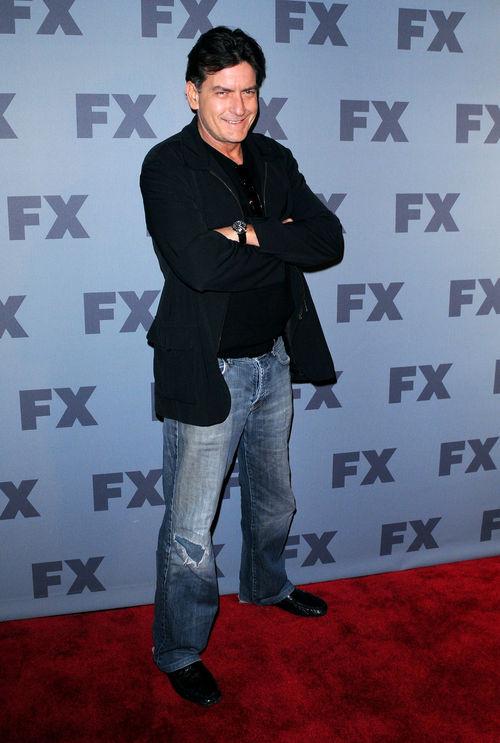 Charlie Sheen hat zur Zeit Erfolg mit seiner neuen Serie