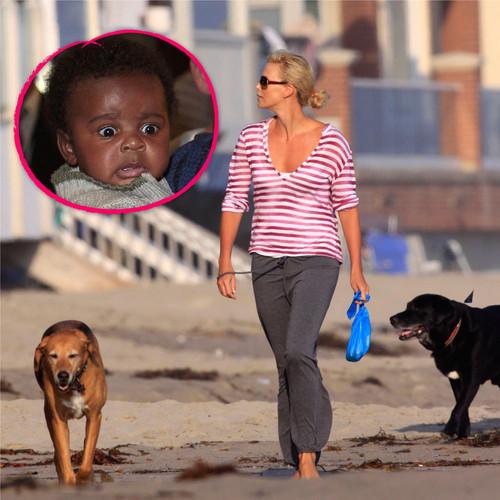 Charlize Theron hat bei der Erziehung ihres Sohnes achtbeinige Unterstützung